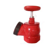 Клапан пожарный чуг Ду50 Ру16 ВР/НР 125 гр Апогей КПК 50-1 110037