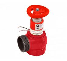 Клапан пожарный чуг Ду50 Ру16 ВР/НР 90 гр с датч Апогей КПЧМ 50-1 110030