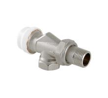"""Клапан термостатический для радиатора угловой с осевым управлением 1/2"""" VALTEC VT.179.N.04"""