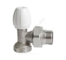 Клапан запорный никель Ду 15 Ру 10 ВР угловой Qgint