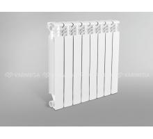Радиатор алюминиевый ALMEGA-80/500/4 секц Qну=764 Вт