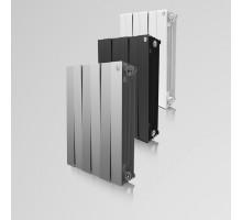 Радиатор биметаллический Royal Thermo PianoForte 500 - 10секц.(ЧЕРНЫЙ)