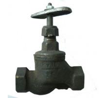 Вентиль чуг.муфт.15кч18п  Ду 25 Ру16 (до 200 С°) вода,пар