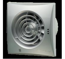 Вентилятор 100 Quiet хром(обр.клапан)