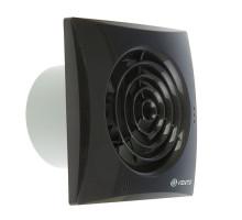 Вентилятор 100 Quiet черный сапфир(обр.клапан)