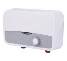 Водонагреватель проточный AURES S 3.5 SH PL (Душ) ARISTON (автоматический),кабель