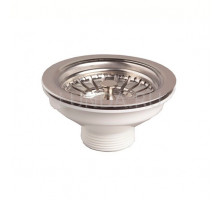 Выпуск для мойки WIRQUIN D90 для мойки нерж. сталь (30717335)