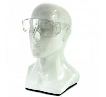 Очки защитные открытого типа, прозрачные, ударопрочный поликарбонат, бок. и верх. защита// СИБРТЕХ