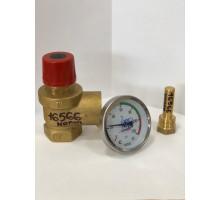 "Монтажный комплект SK SET X(предохр.клапан 1"",термометр,гильза)"